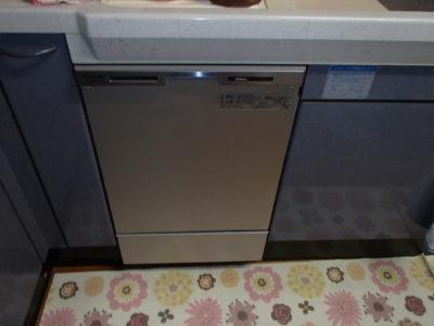 【施工事例】新しい食洗機で、節約簡単食器洗い!