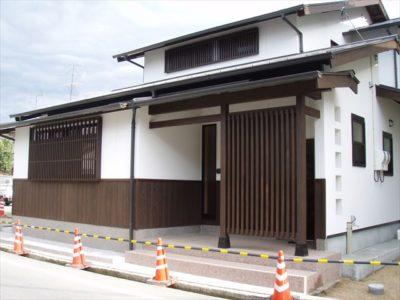 【施工事例】旧家の柱を引き継ぐ家