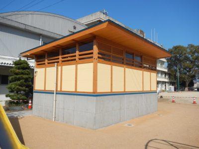 【施工事例】橘小学校屋外トイレ